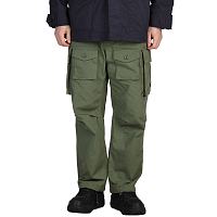 ENGINEERED GARMENTS FA PANT OLIVE COTTON RIPSTOP