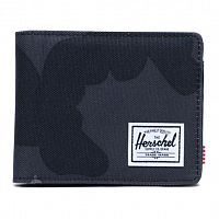 Herschel HANK LEATHER RFID NIGHT CAMO