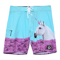 69slam NIKO LTD EDT 4 WAYS BOARDSHORT HAVANA HIGH