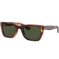 Ray Ban Caribbean STRIPED HAVANA/GREEN