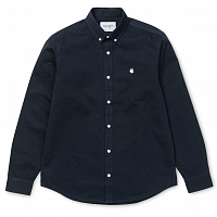 Carhartt WIP L/S Madison Shirt DARK NAVY / WAX