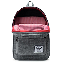 Herschel Pop Quiz Raven Crosshatch