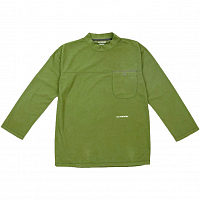 And Wander Thermotron Mock Neck T YELLOW GREEN