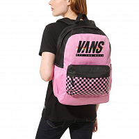 Vans SPORTY REALM PLUS BACKPACK FUCHSIA PINK-SPORT STRIPE