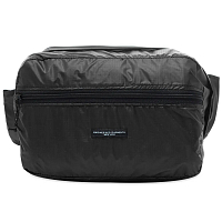 Engineered Garments UL Waistpack BLACK NYLON RIPSTOP EX009
