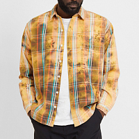 Garbstore Bleached Shirt BROWN