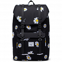 Herschel Little America Mid-Volume DAISY BLACK