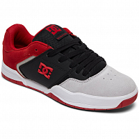 DC CENTRAL M SHOE BLACK/RED/GREY