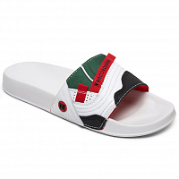 DC WILLIAMS SLIDE M SNDL WHITE/RED
