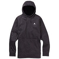 Burton M CROWN BNDD PO TRUE BLACK HEATHER