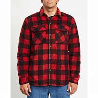 Volcom BOWER POLAR FLEECE RIO RED