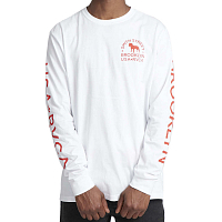 RVCA WICKS LS White