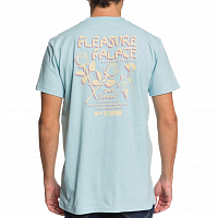 DC PLEASURE PALACE M TEES CRYSTAL BLUE