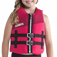 Jobe NEOPRENE VEST YOUTH HOT PINK