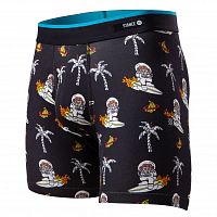 Stance THE BOXER BRIEF SPACE MONKEY BB BLACK