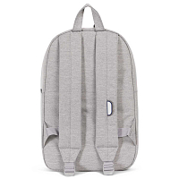 Herschel Heritage Light Grey Crosshatch/White Rubber/Blueprint strip