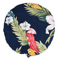 Engineered Garments BERET NAVY HAWAIIAN FLORAL MICROFIBER