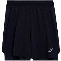 Asics Road 2-n-1 7IN Short PERFORMANCE BLACK