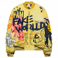 PERKS AND MINI JACKET FAKE RLD BOMBER JACKET MLTI