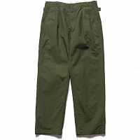 Engineered Garments Ground Pant OLIVE COTTON RIPSTOP CT010