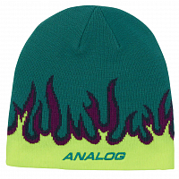 Analog AG BEANIE GREEN-BLUE SLATE