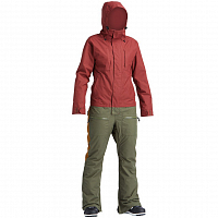 Airblaster W'S INSULATED FREEDOM SUIT OXBLOOD SURPLUS