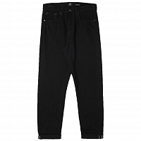 EDWIN Ed-45 Loose Tapered BLACK (RINSED)