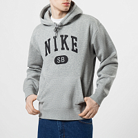 Nike M NK SB MARCH RADNESS HOODIE DK GREY HEATHER/BLACK