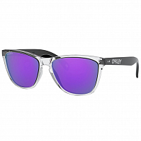 Oakley Frogskins 35th POLISHED CLEAR/PRIZM VIOLET