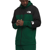 The North Face M MNT LITE FULLZIPHD NIGHT GRE (N3P)