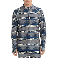 Burton MB EXP 1/4 ZIP DRESS BLUE SPURWINK