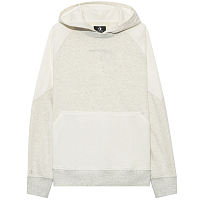 Converse CONVERSE WOMENS MIX & MATCH PO OS HOODIE VINTAGE WHITE HEATHER