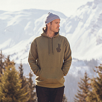 Planks HAND OF SHRED HOOD (WOODSY) Army Green