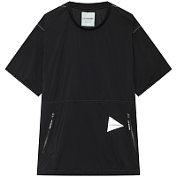 AND WANDER PERTEX WIND T BLACK