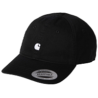 Carhartt WIP MADISON LOGO CAP BLACK / WAX