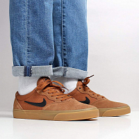 Nike SB CHRON SLR LT BRITISH TAN/BLACK-GUM LIGHT BROWN