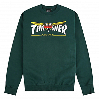 Thrasher VENTURE COLLAB CREW GREEN
