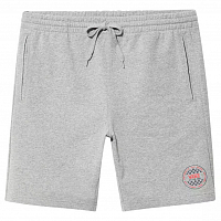Vans OG CHECKER FLEECE SHORT Cement Heather