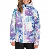 686 GIRLS SPECKLE INSULATED JACKET LAGOON OMBRE PALM