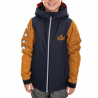 686 BOYS FOREST INSULATED JACKET NAVY COLORBLOCK
