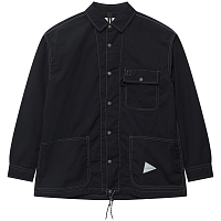 And Wander DRY RIP SHIRT NAVY
