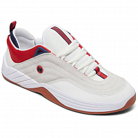 DC WILLIAMS SLIM S M SHOE WHITE/NAVY/RED