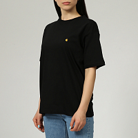 Carhartt WIP W' S/S CHASY T-SHIRT BLACK / GOLD