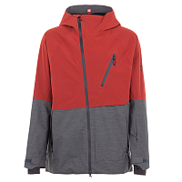 686 MNS GLCR HYDRA THERMAGRAPH JKT RUSTY RED COLORBLOCK
