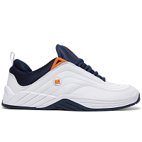 DC WILLIAMS SLIM M SHOE WHITE/NAVY