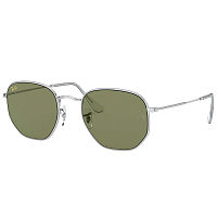 Ray Ban 0RB3548 SILVER/BOTTLE GREEN