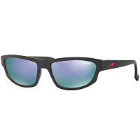 Arnette LOST BOY MATTE BLACK/GREY MIRROR VIOLET