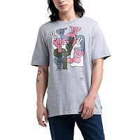 Herschel MEN'S TEE GROUP HANDS HEATHER GREY