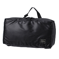 PORTER YOSHIDA SNACK PACK COSME POUCH BLACK