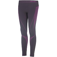 ACCAPI POLAR BEAR SEAMLESS TROUSERS BLACK/CYCLAMEN